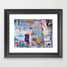 It's opener out there in the wide open air Framed Art Print
