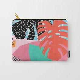 Memphis Palm Carry-All Pouch