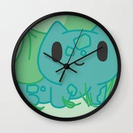 Bulba-saur chibi Wall Clock