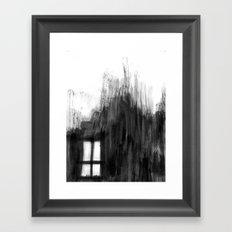 window shadow Framed Art Print