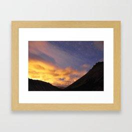 Day Night Framed Art Print