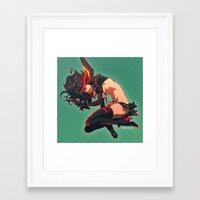 kill la kill Framed Art Prints featuring Kill La Kill by Mikuloctopus
