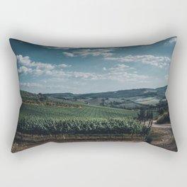 Vineyard in Tuscany, Italy Rectangular Pillow