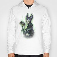 evil Hoodies featuring EVIL by Tim Shumate