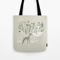 Deer Forest Tote Bag