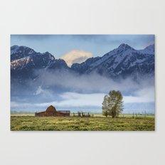 Teton Morning. Canvas Print