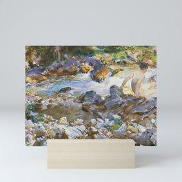 Mountain Stream by John Singer Sargent,1912 Mini Art Print