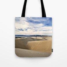 Sand Dunes and Ocean Views Tote Bag