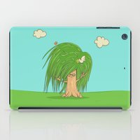 hippie iPad Cases featuring Hippie Tree by Lili Batista