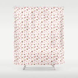 Delicate floral print for summer Shower Curtain