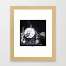 Train & Station Framed Art Print