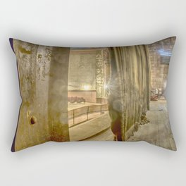 Backstage of Vintage Theater Rectangular Pillow