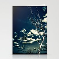 breathe Stationery Cards featuring BREATHE by Steffen Remter
