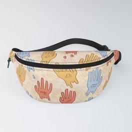 Zodiac Hands II Fanny Pack