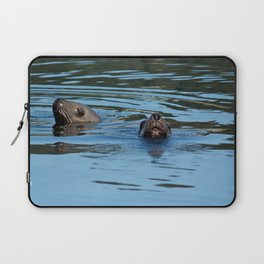 Seals Photography Print Laptop Sleeve