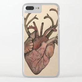 Heartalope Clear iPhone Case