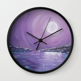 Shine Like It Does Wall Clock
