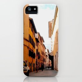 Italy In A View: Postcard From Lucca iPhone Case