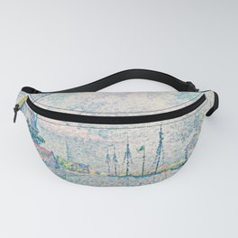 Paul Signac - Canal of Overschie Fanny Pack