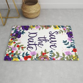 Save the Date Rug