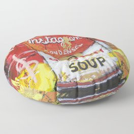 Gluttony Soup Preserves Floor Pillow