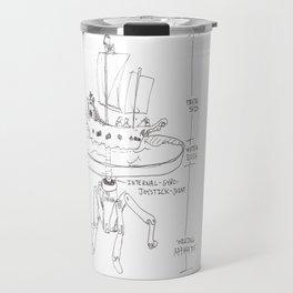 Mechanism for Inland Pirating.  Travel Mug
