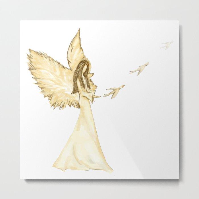 Angel 2 Metal Print