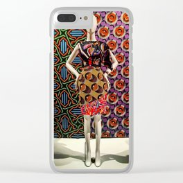 A Colorful Migraine Clear iPhone Case