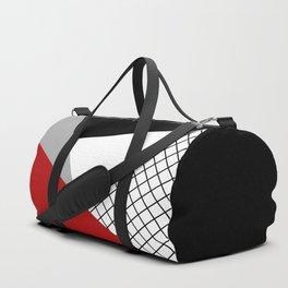Colorful geometry 3 Duffle Bag
