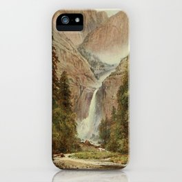 Palmer, Harold Sutton (1854-1933) - California 1914 - Yosemite Falls iPhone Case
