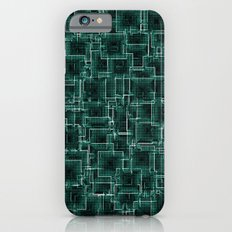 The Maze - Teal iPhone 6s Slim Case