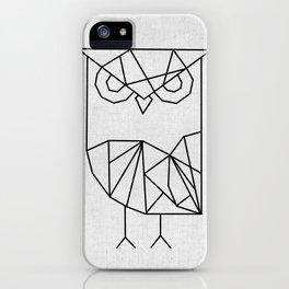 Owl Graphic iPhone Case