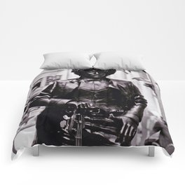 Phil Lynott (Thin Lizzy) Statue Dublin Comforters