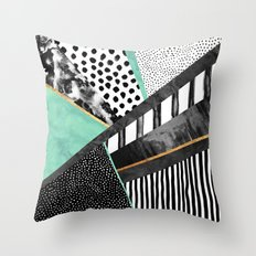 Lines & Layers 3 Throw Pillow