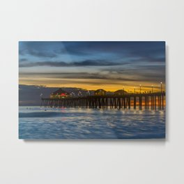 Smooth Water at Ruby's Metal Print