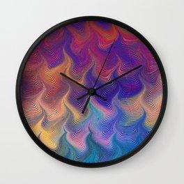 MARBLING PATTERN-3 Wall Clock