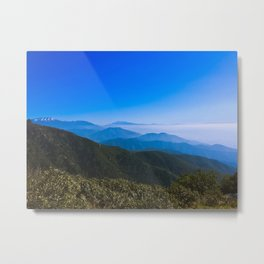 Mountain Perspective Metal Print