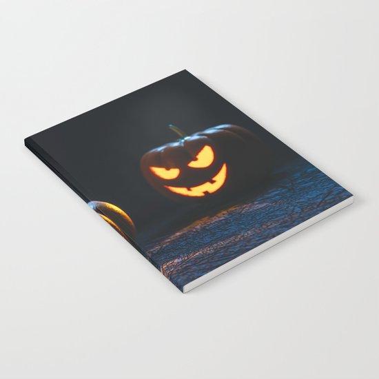 Halloween Pumpkin Lantern Notebook