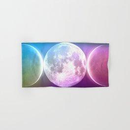 Moon Triple Goddess Rainbow Hand & Bath Towel