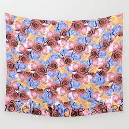 Rose is a rose is a ro... Wall Tapestry