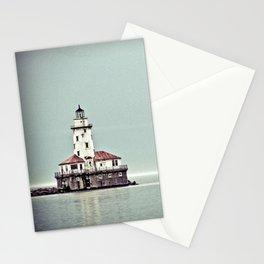 Chicago Harbor Lighthouse Stationery Cards