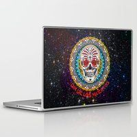 day of the dead Laptop & iPad Skins featuring Day of the Dead by Gary Grayson