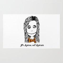 Hermione Granger Skull Leviosa Rug