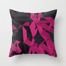 3D Futuristic GEO III Throw Pillow