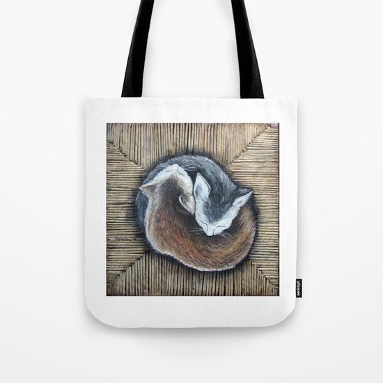 Cats rest Tote Bag