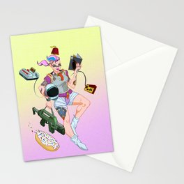 Astro Punk Sugar Rush Sprinkles Stationery Cards