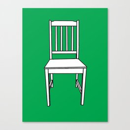 Chair, 2013. Canvas Print
