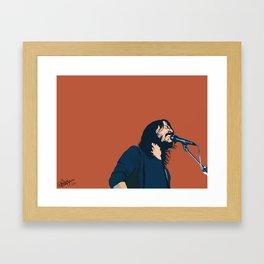 Dave Grohl Framed Art Print