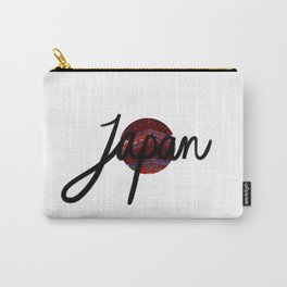 Japan Flag Carry-All Pouch