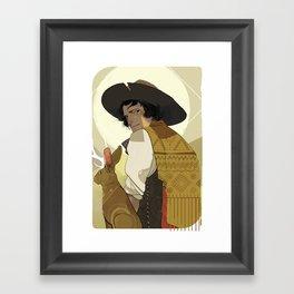 Velez Framed Art Print